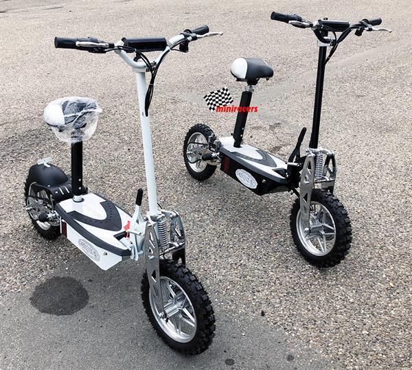 Grote foto electrische step rapid 1.600 watt fietsen en brommers steppen