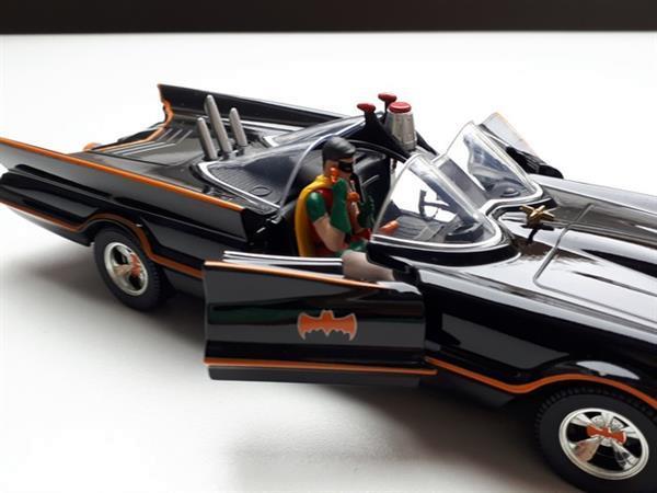 Grote foto modelauto batmobile batman classic 1 24 jada hobby en vrije tijd 1 24