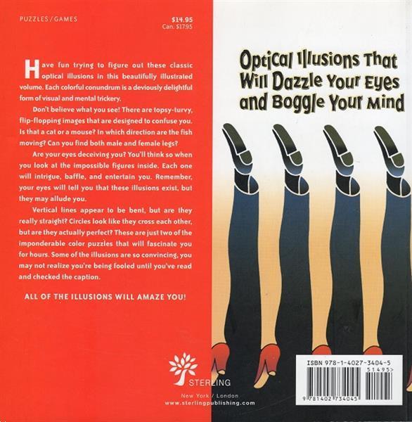 Grote foto the ultimate book of optical illusions boeken overige boeken