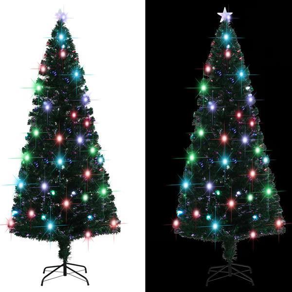 Grote foto vidaxl kunstkerstboom met standaard led 240 cm 380 takken diversen overige diversen