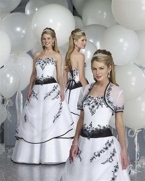 Grote foto gekleurde trouwjurken trouwjurken in kleur kleding dames trouwkleding