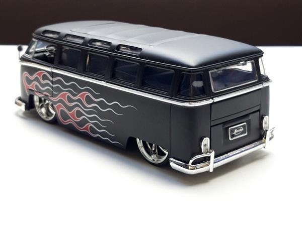 Grote foto speelgoed volkswagen samba t1 bus jada toys 1 24 verzamelen speelgoed