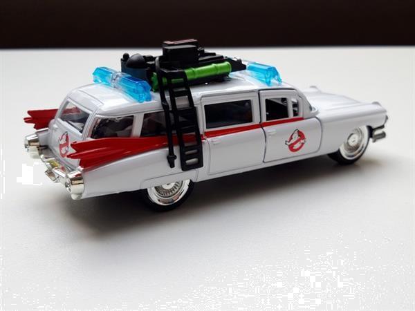 Grote foto modelauto cadillac ghostbuster ecto1 jadatoys 1 32 verzamelen auto en modelauto