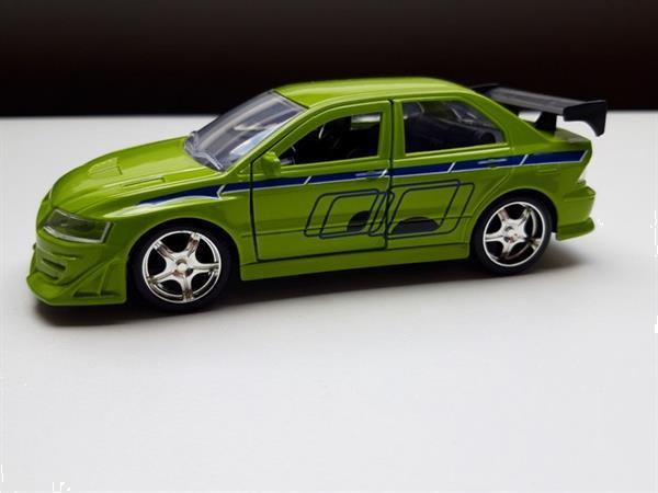 Grote foto mitsubishi lancer evo vii fast and furious 1 32 verzamelen speelgoed