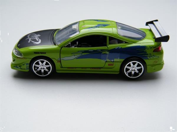 Grote foto mitsubishi eclipse fast and furious jada 1 32 verzamelen auto en modelauto