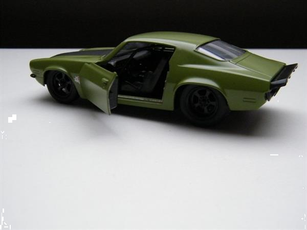 Grote foto chevrolet camaro z28 f bomb fast and furious jada verzamelen speelgoed