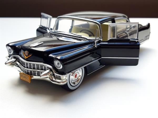 Grote foto modelauto cadillac fleetwood the godfather 1 24 verzamelen auto en modelauto