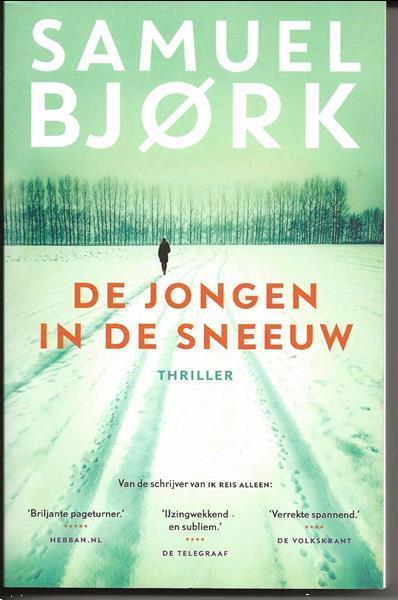 Grote foto de jongen in de sneeuw van samuel bjork boeken thrillers