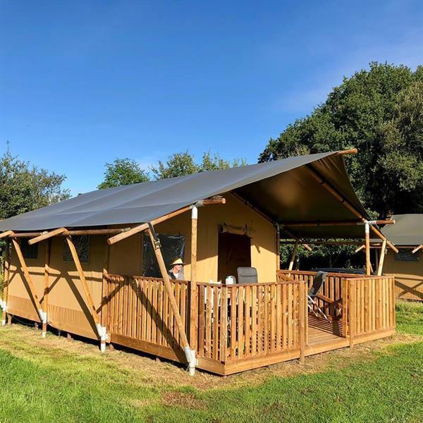 Grote foto luxe safaritenten in normandi frankrijk vakantie frankrijk