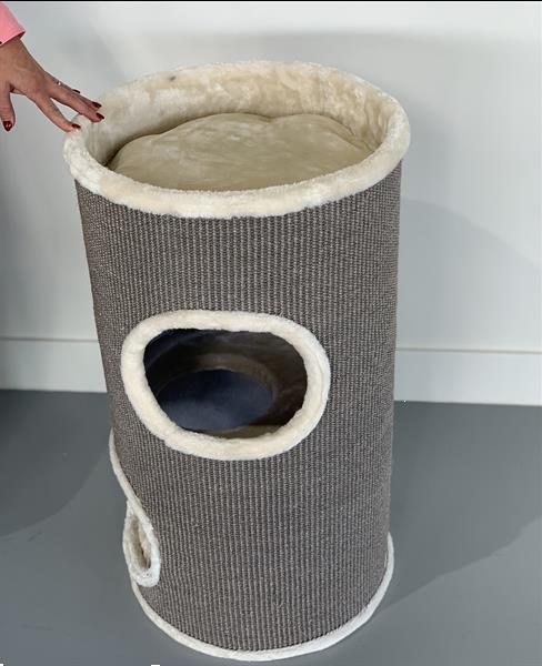 Grote foto krabton coony 80 cream. keuze 352x krabpaal dieren en toebehoren katten accessoires