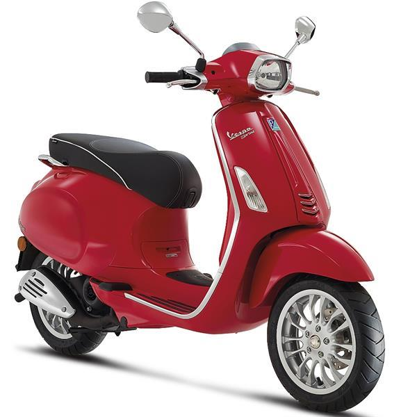 Grote foto vespa sprint rosso passione bij central scooters kopen 3 fietsen en brommers scooters