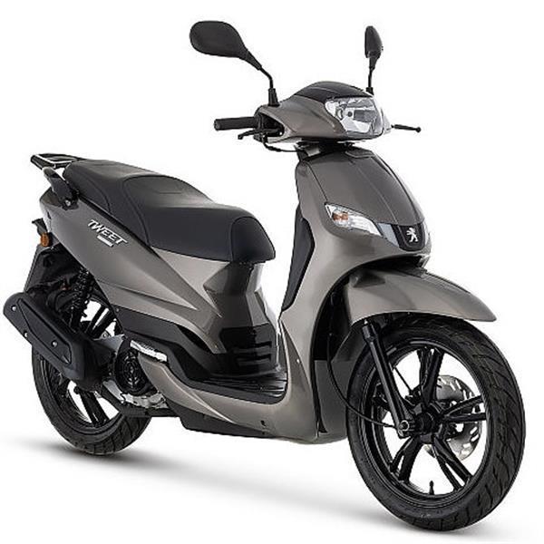 Grote foto peugeot tweet evo brons bij central scooters kopen 2098 0 fietsen en brommers scooters