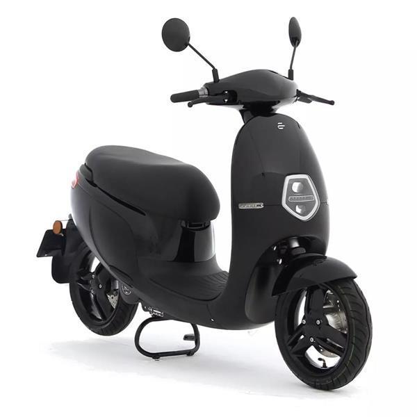 Grote foto ecooter e1s 32ah zwart bij central scooters kopen 2398 00 fietsen en brommers scooters