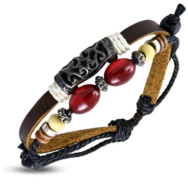 Grote foto leren armband dames ibiza beach sieraden tassen en uiterlijk armbanden voor haar