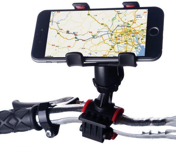 Grote foto telefoonhouder telefoon fiets houder stuur fietsstuur smartp fietsen en brommers onderdelen