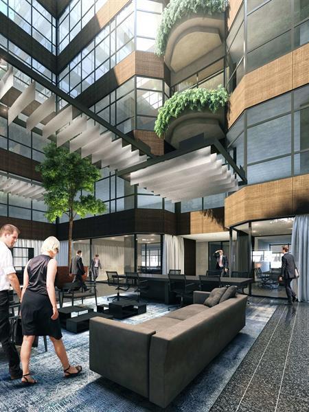 Grote foto te huur werkplek strawinskylaan 3051 amsterdam huizen en kamers bedrijfspanden