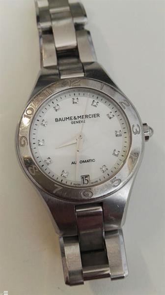 Grote foto baume mercier no reserve price linea ref. 65704 da kleding dames horloges