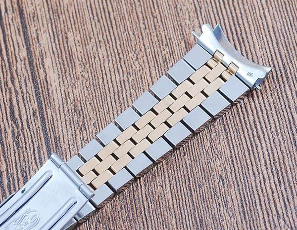Grote foto rolex 18k gold stainless steel jubilee bracelet 62523h kleding dames horloges