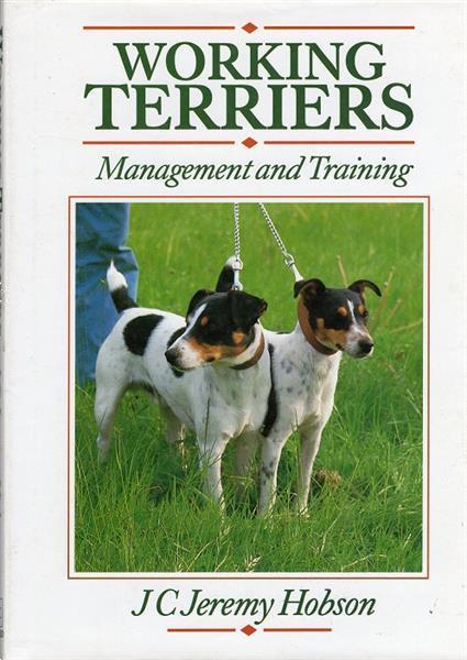 Grote foto working terriers management and training boeken dieren en huisdieren