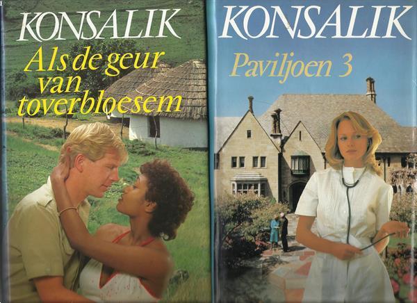 Grote foto 2 boeken konsalik boeken romans
