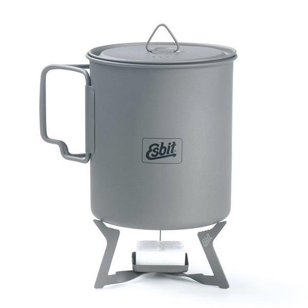 Grote foto esbit titanium kooktoestelletje voor esbitblokjes caravans en kamperen overige caravans en kamperen