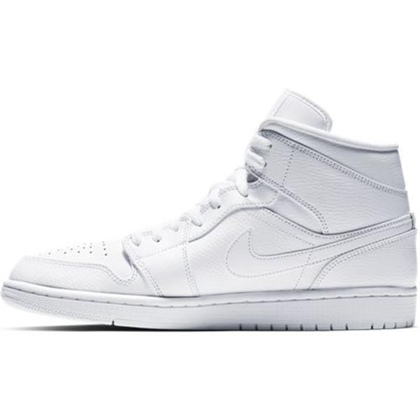 Grote foto air jordan 1 mid wit schoenmaat eu 47 kleding heren schoenen