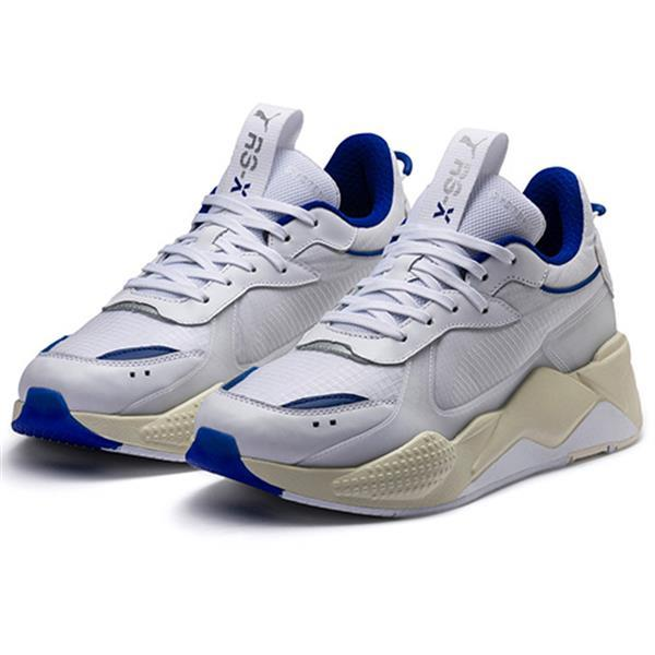 Grote foto puma rs x tech wit blauw schoenmaat eu 42.5 kleding heren schoenen