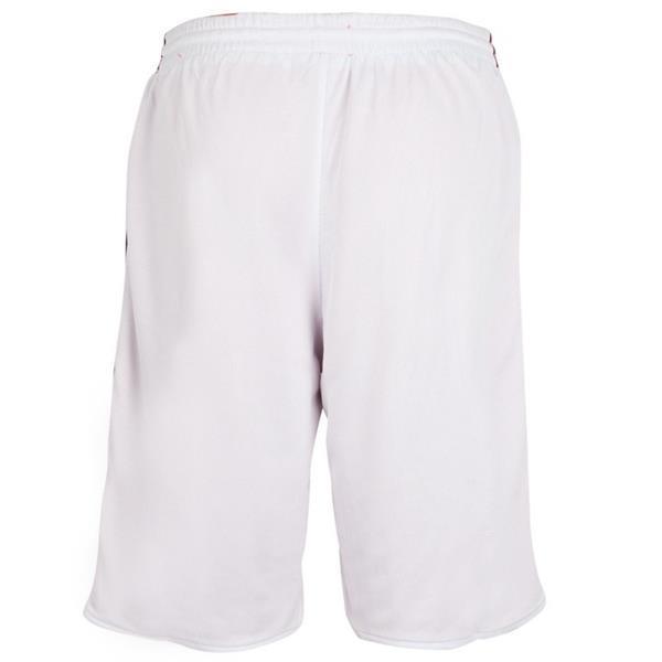 Grote foto burned dubbelzijdig short rood wit kledingmaat 3xl kleding heren sportkleding