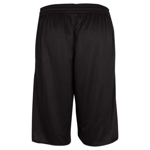 Grote foto burned dubbelzijdig short zwart wit kledingmaat xxl kleding heren sportkleding