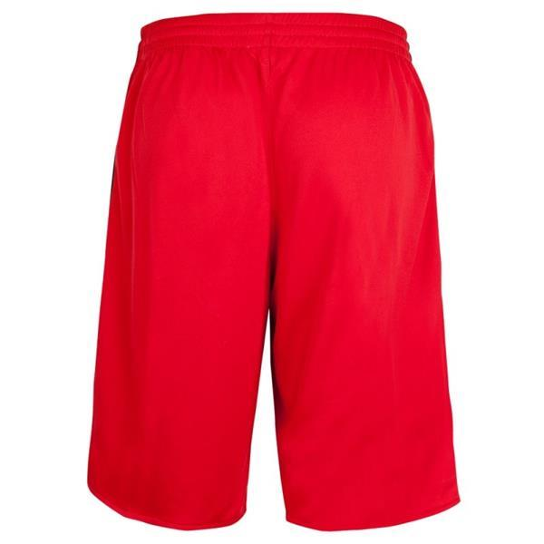 Grote foto burned dubbelzijdig short rood wit kledingmaat xxl kleding heren sportkleding