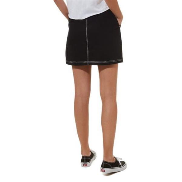 Grote foto vans in the know rok zwart kledingmaat m kleding dames overige kledingstukken