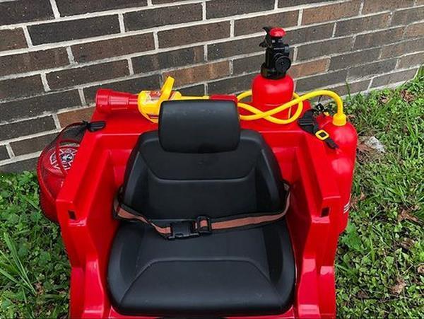 Grote foto electrische kinder auto fire car kinderen en baby voertuigen en loopfietsen