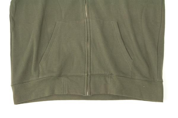 Grote foto trakker fleece zipped hooded shirt maat l hoody kleding heren t shirts