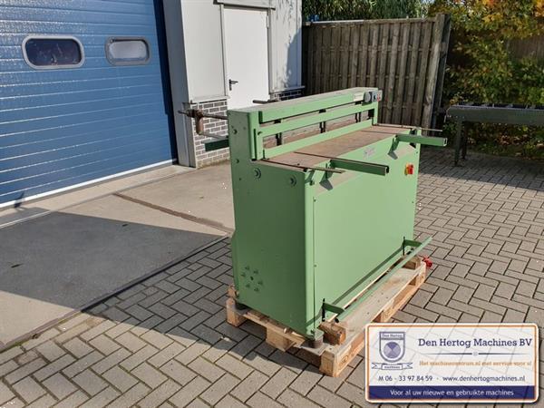 Grote foto compactschaar jorg 1050x2mm knipbank knipschaar plaatschaar doe het zelf en verbouw gereedschappen en machines