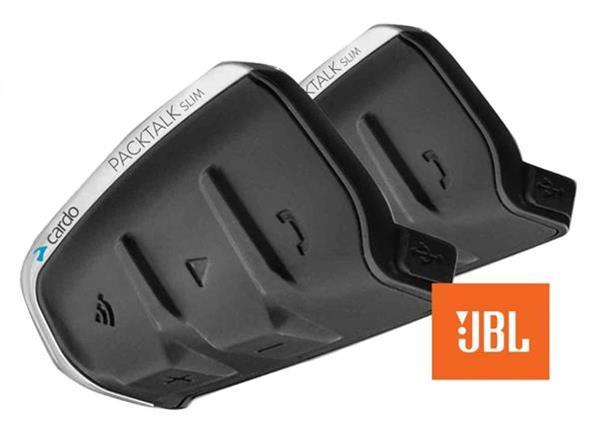Grote foto cardo packtalk slim jbl duo gratis montage in uw helm motoren overige accessoires
