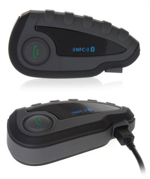 Grote foto vnetphone v8 bluetooth headset met afstandbediening. tip motoren kleding