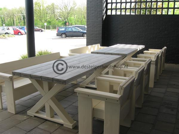 Grote foto tafels op maat diverse modellen gemaakt. diensten en vakmensen timmerlieden en meubelmakers