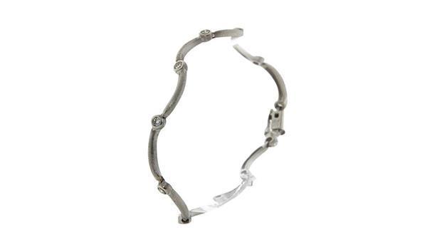 Grote foto witgouden armband met diamant 9 krt 1279 sieraden tassen en uiterlijk armbanden voor haar