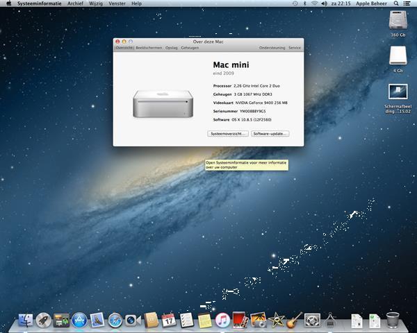 Grote foto te koop mac mini ym008b8y9g5 en sp. computers en software desktop pc