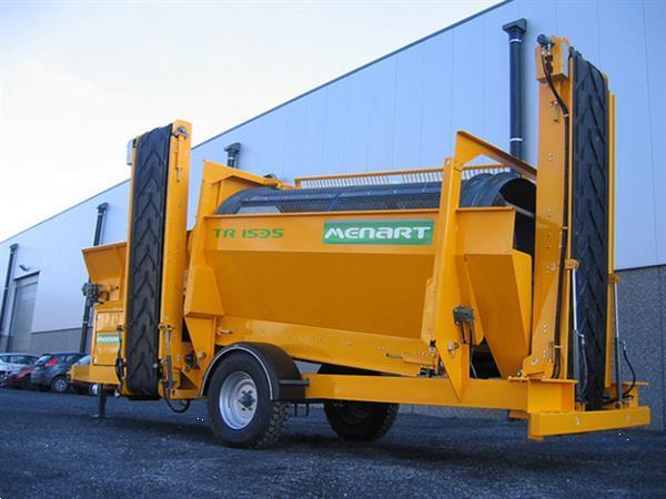 Grote foto machine op commissie alle recycling doe het zelf en verbouw afvalverwerking