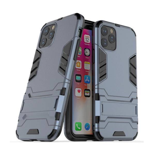 Grote foto iphone 11 robotic armor case cover cas tpu hoesje navy k telecommunicatie mobieltjes
