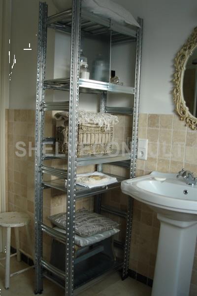 Grote foto alu look modulaire stevige strakke badkamerkast huis en inrichting badkamermeubels