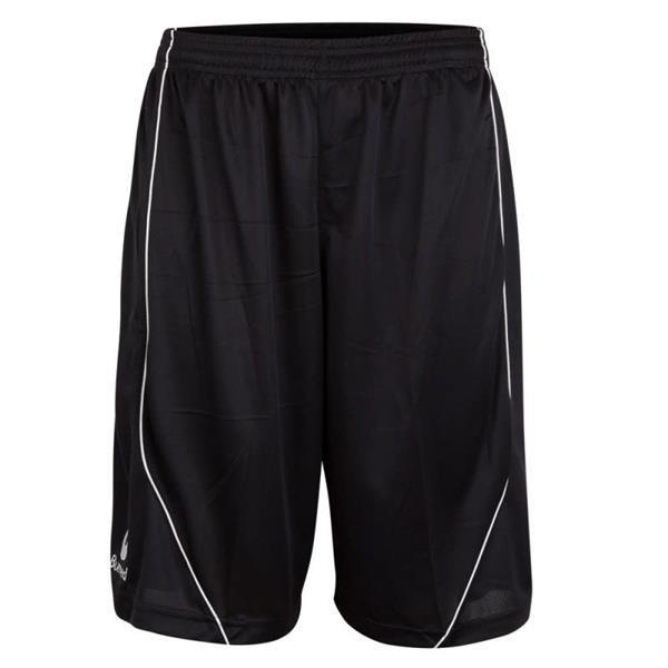 Grote foto burned enkelzijdig short zwart kledingmaat xxs kleding heren sportkleding