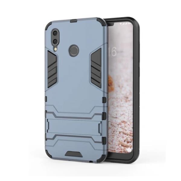 Grote foto iphone xs robotic armor case cover cas tpu hoesje navy k telecommunicatie mobieltjes