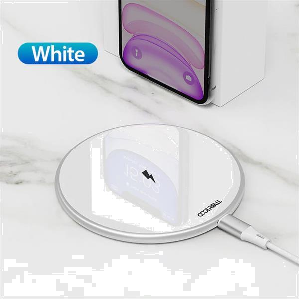 Grote foto 15w qi universele draadloze oplader wireless charging pad wi telecommunicatie opladers en autoladers