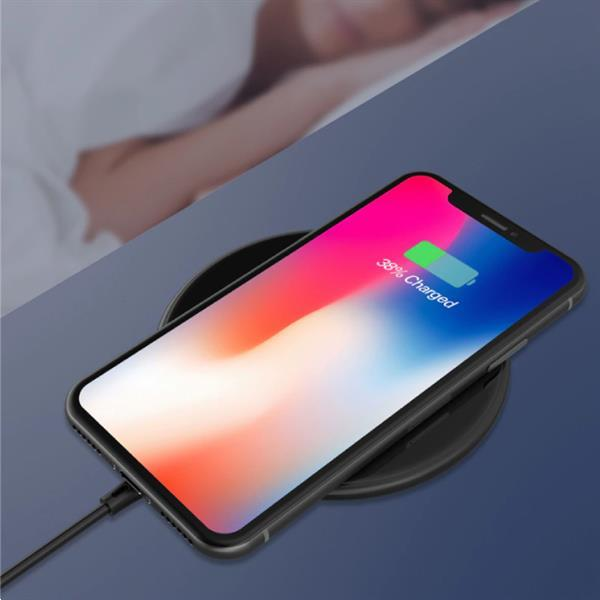 Grote foto 15w qi universele draadloze oplader wireless charging pad zw telecommunicatie opladers en autoladers