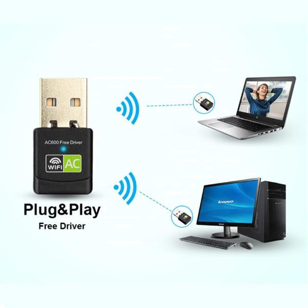 Grote foto wifi usb mini dongle network wireless 600mb s 5ghz antenne computers en software overige computers en software