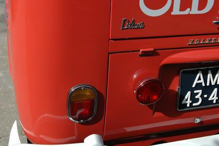 Grote foto volkswagen samba t1 spijlbus bulli auto volkswagen