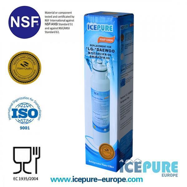 Grote foto ecoaqua eff 6012a waterfilter van icepure rwf1300a witgoed en apparatuur koelkasten en ijskasten