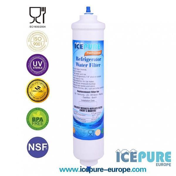 Grote foto arcelik externe waterfilter van icepure rwf0300a witgoed en apparatuur koelkasten en ijskasten